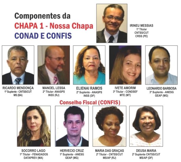 Panfleto eleição CONAD - irineu